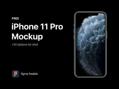 iPhone 11 Pro Realistic Mockup