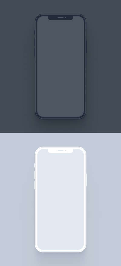 iPhone 12 Pro Free Mockup for Figma