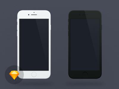 iPhone 7 Minimal Mockup
