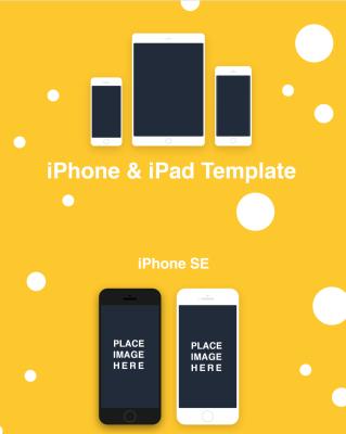 iPhone and iPads XD mockups