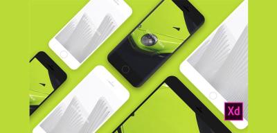iPhone & iPad Adobe XD mockups