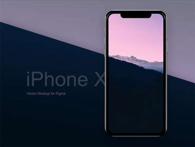 iPhone X Free Vector