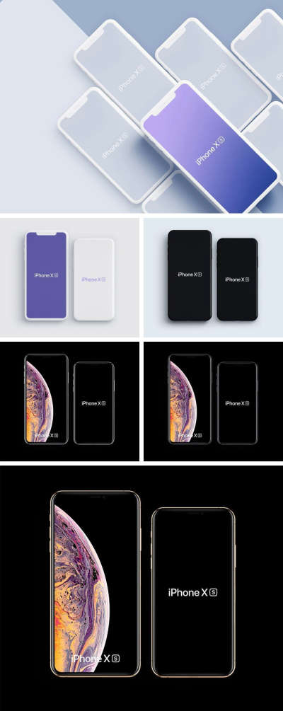 iPhone Xs Free Mockup