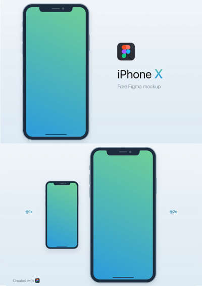 iPhone X Free Mockup 2