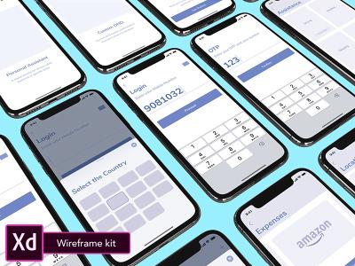 Latr – Free XD Wireframe kit