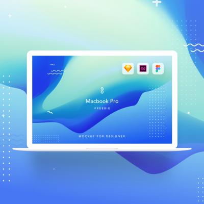 Macbook Pro Mockup for Figma