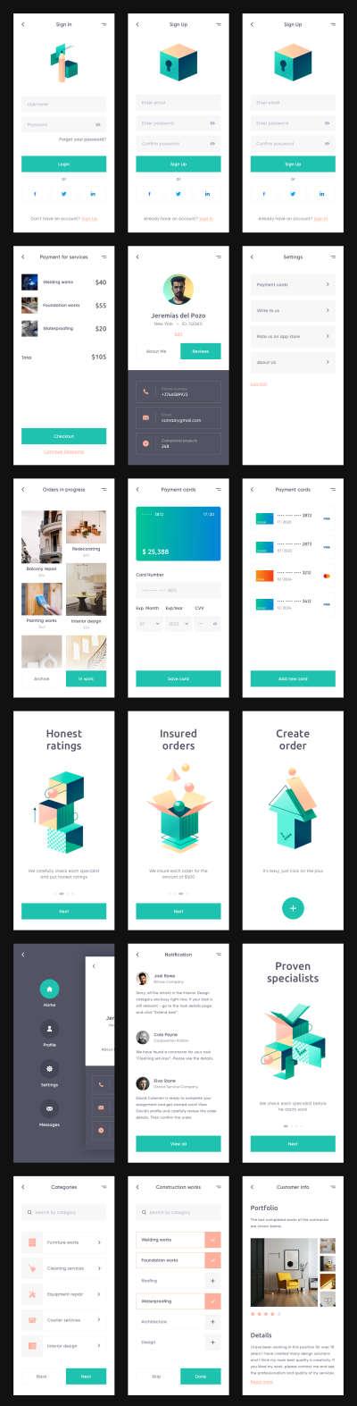 MasterGo - Free UI Kit for Figma