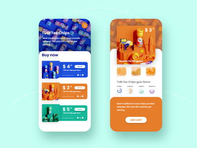 Mobile application user interface
