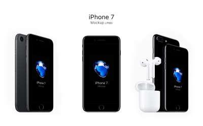 iPhone 7 & 7 Plus Mockup