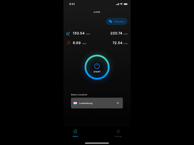 mVPN - App Design
