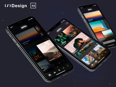 MyPhotos – Free XD app concept