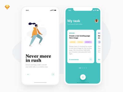 My Tasks App UI Kit