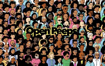 Open Peeps – Free illustration library