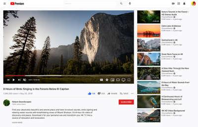Youtube Figma Layout