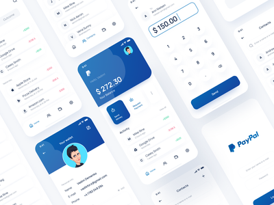 PayPal App Redesign Conept