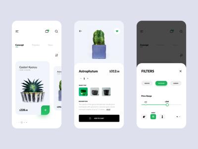 Plant Shop App // E-commerce App Design