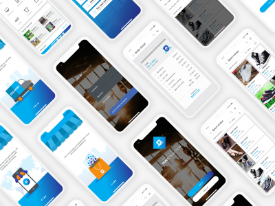 Pony collection – ecommerce mobile UI kit