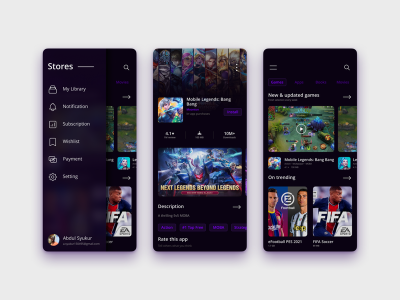 Apps Store UI Concept