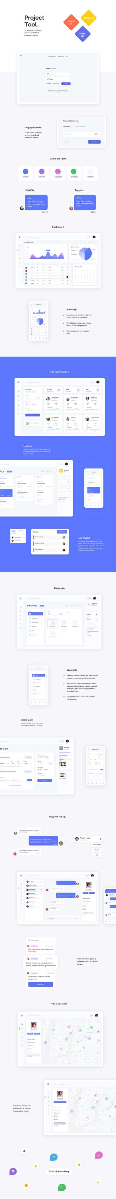 Team Work Dashboard UI Kit