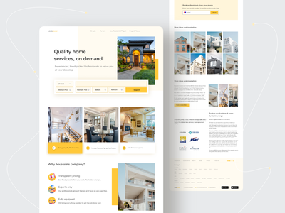 Real Estate Investment landing page
