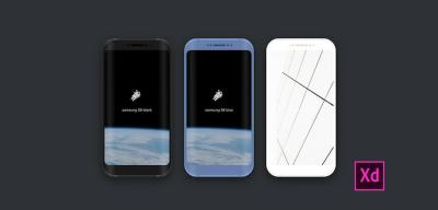 Galaxy S8 & Tablet XD device mockups