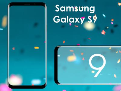Samsung Galaxy S9 Frame Mockup