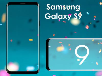 Samsung Galaxy S9 XD device mockup