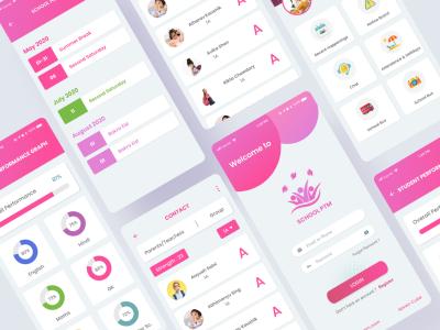 School-Parent Interaction Mobile App Design