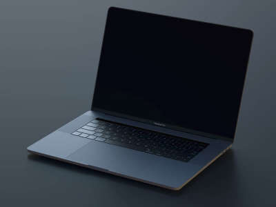 Macbook Pro Realistic Mockup