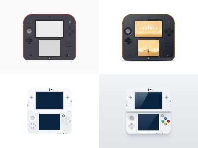 Nintendo 2DS and 3DS