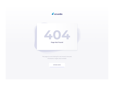 Scrumbs 404 Page