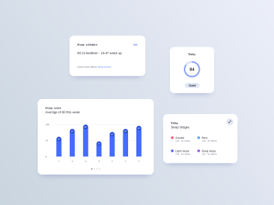 Sleep Tracker App Components