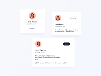 User Cards