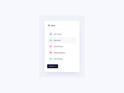 Users List