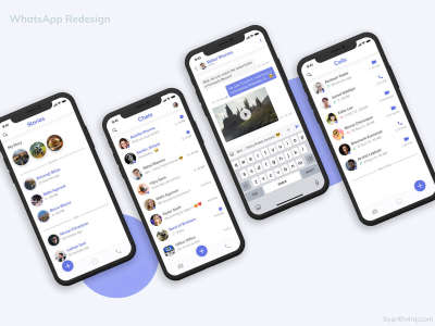 WhatsApp Mobile Redesign