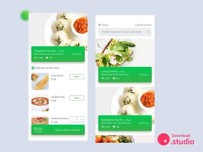Skittles - Food Ordering App