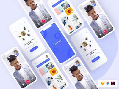 Social UI Screens