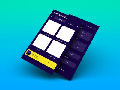Songhaul – XD Music App Template