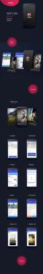 Sport App – Material UI kit for Adobe XD