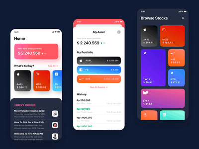 Stock Exchange App - A Playful Approach