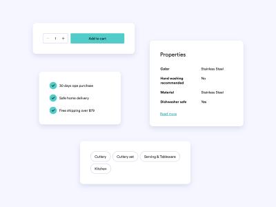 Webshop Components