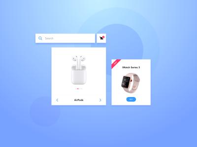 Webshop UI Kit