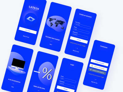 Tech Marketplace UI Kit for Figma
