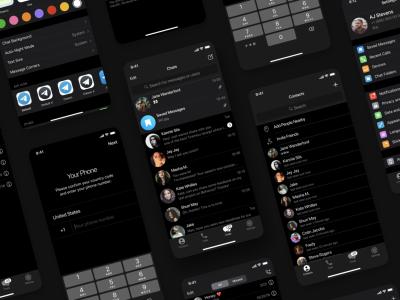 Telegram - Free iOS UI Kit