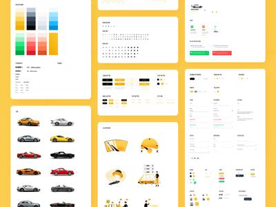 tmrw.car - UI Style Guide Freebie