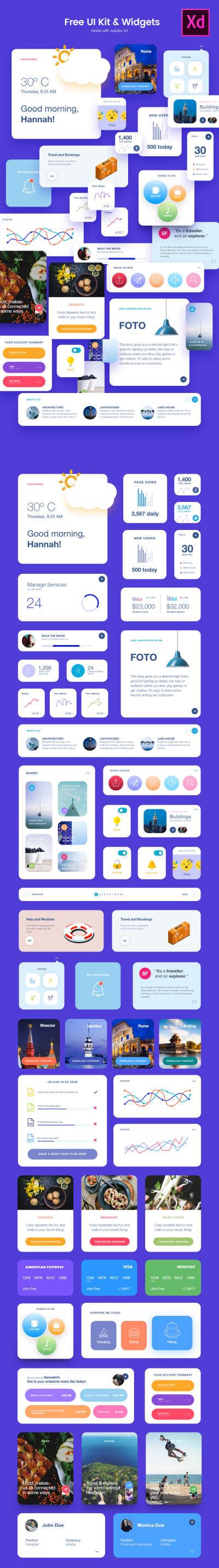 Free UI Kit & Widgets