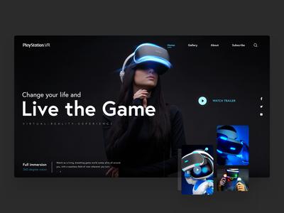 VR Webdesig Presentation for Download