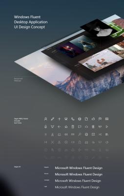 Windows Fluent Design Concept