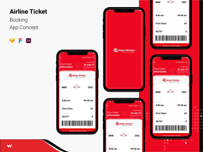 XD Airline ticket booking app