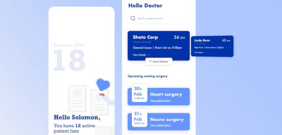 XD doctor mobile/medical app template